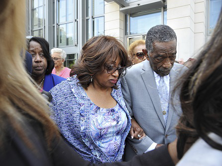 Corrine Brown Found Guilty On Fraud And Tax-Evasion Charges
