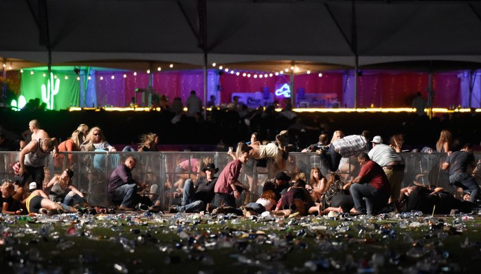 More Than 50 Dead, 200 Wounded In Las Vegas Mass Shooting