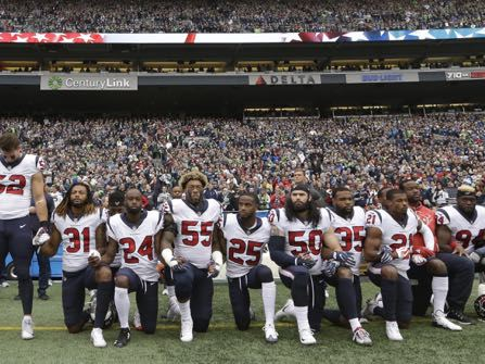 Most Of The Houston Texans Participate In Anthem Protest After Owner's Comments