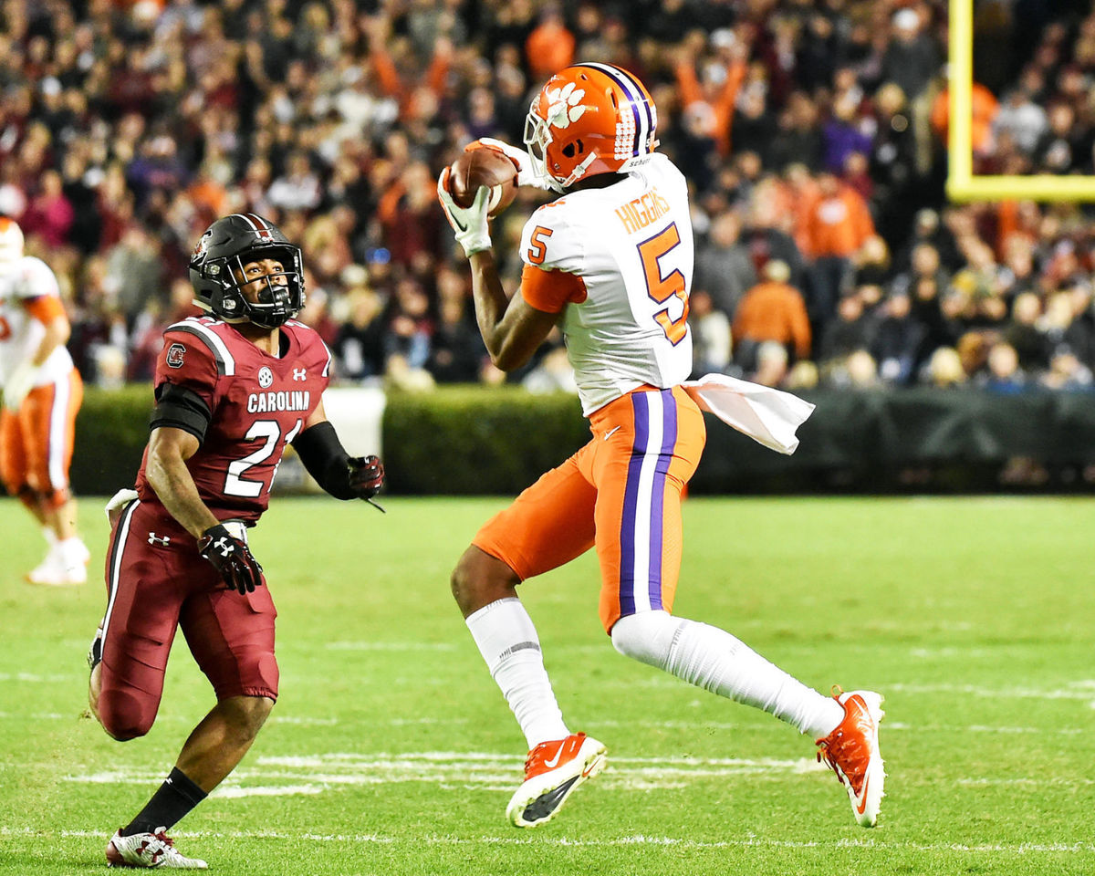 Clemson Tigers beat USC Gamecocks in Palmetto Bowl