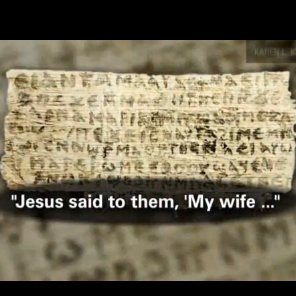 jesus had a wife