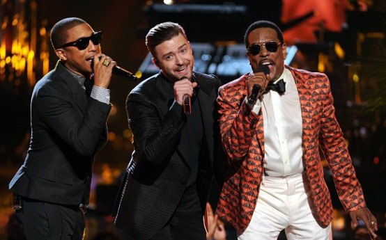 Pharrell Williams, Justin Timberlake, Charlie Wilson