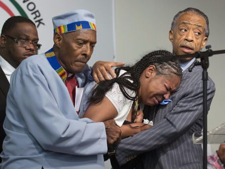 Esaw Garner, Herbert Daughtry, Al Sharpton